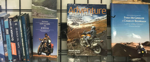 Casi todo lo que se ha publicado sobre viajes en moto