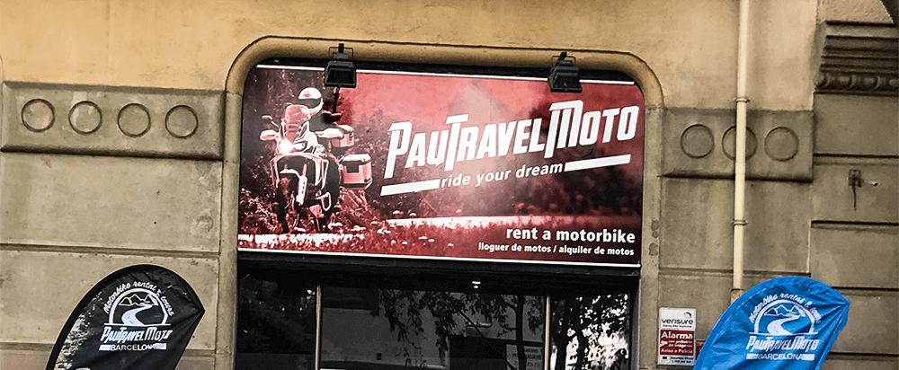 Inaguración del nuevo local PauTravelMoto en el centro de Barcelona