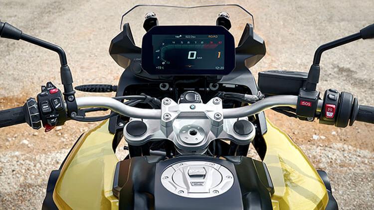Detalle Moto BMW F750GS