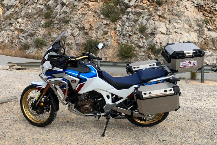 Africa Twin 1100 Adventure Asiento