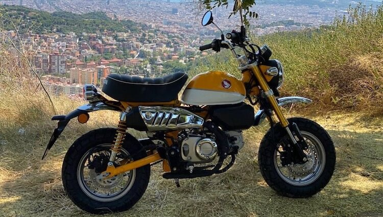 Honda Monkey 125 barcelona