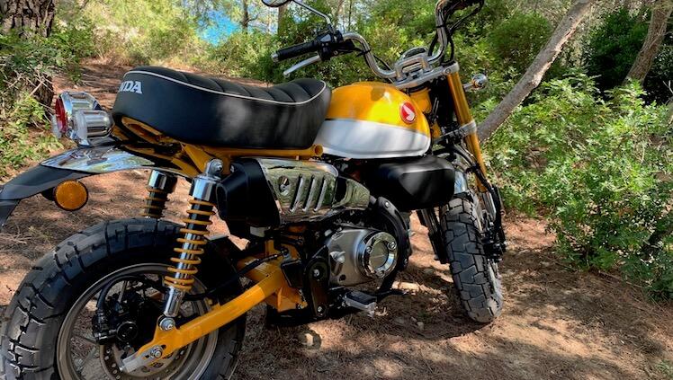 Honda Monkey 125 montanya