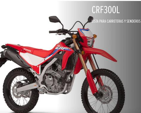 Características técnicas CRF300L