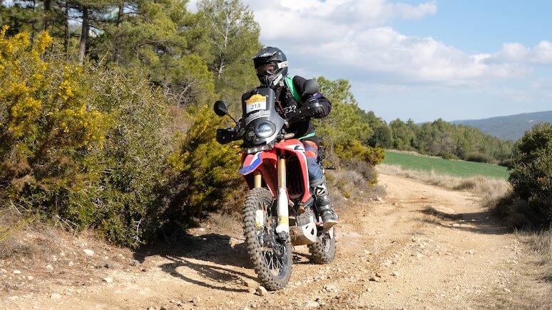 Moto Honda off road 250