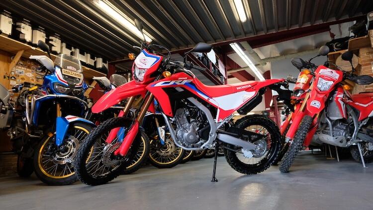 Nueva Honda CRF300L 2021