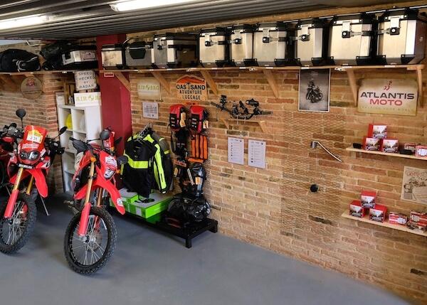 Productos a la venta de motos de PauTravelmoto