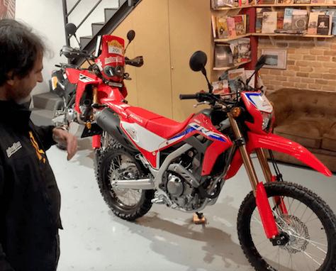 Vídeo Honda CRF300L