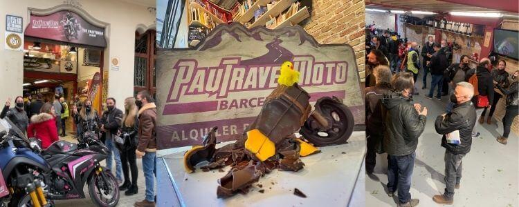 Inauguración de PauTravelMoto: Gracias por visitarnos