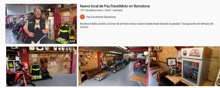 Ver nuevo local de pauTravelMoto