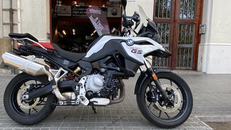 Alquilar BMW F750 GS Barcelona
