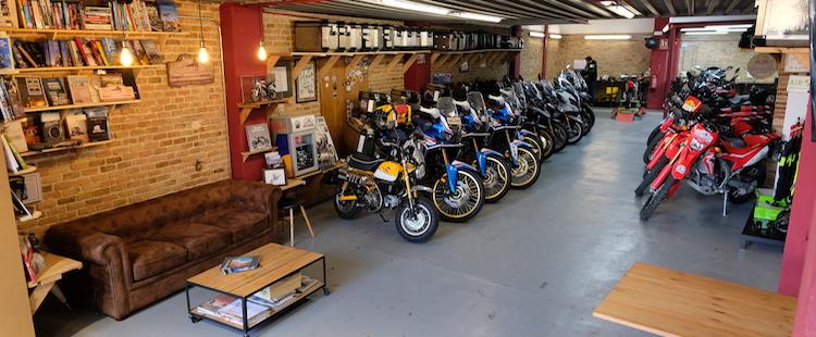 Local de motos de alquiler en barcelona